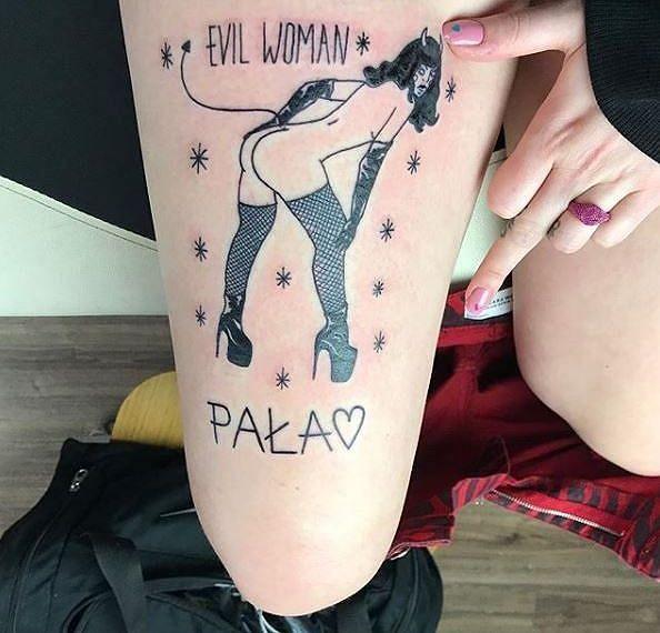 Tatuaż diablica