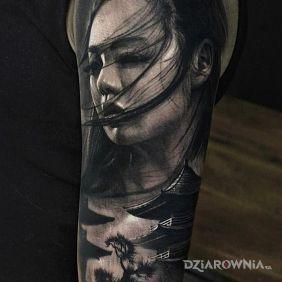 Portret Japonki