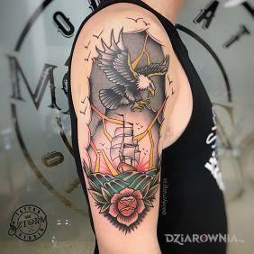 Marynarski tatuaż