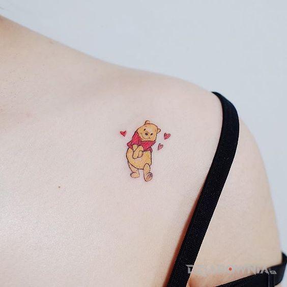 Tatuaż mały kubuś - postacie