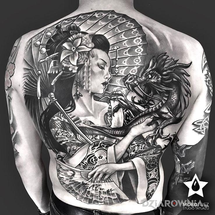 Tatuaż full back tattoo - pozostałe