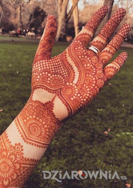 Tatuaż henna 2