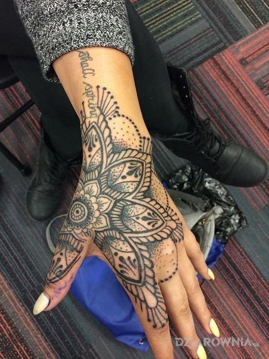 Tatuaż mandala - mandale