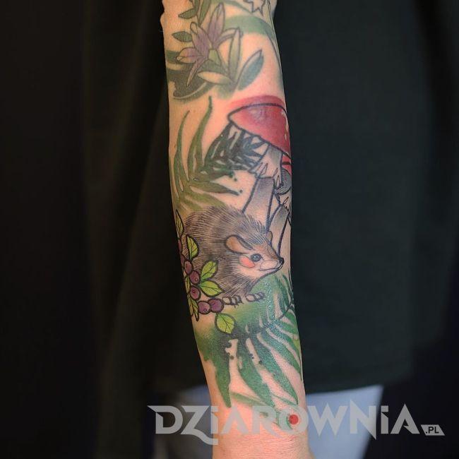 Tatuaż jeż