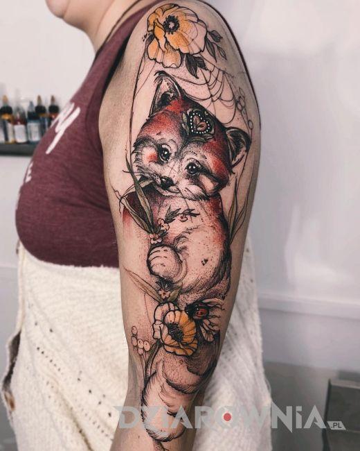 Tatuaż kot