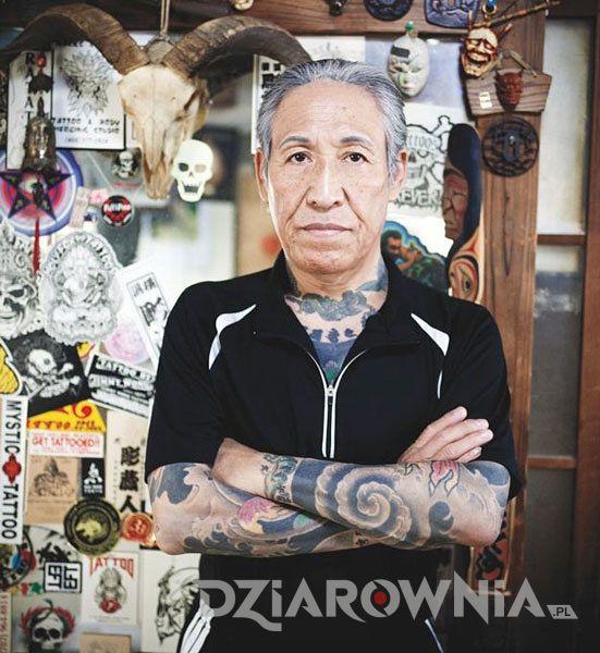 Tatuaże Horiyoshi