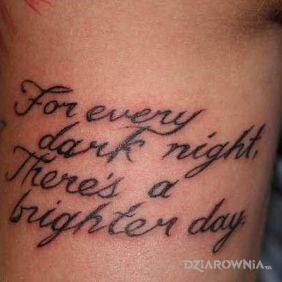 Dark Nights, Bright Days