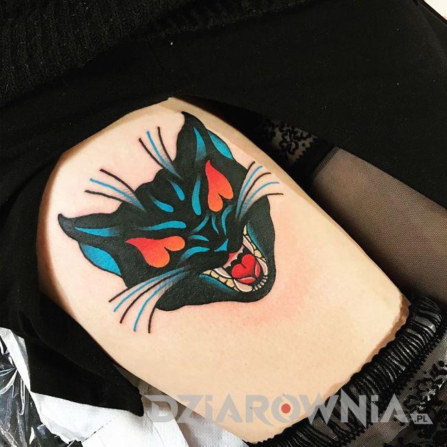 Tatuaż puma