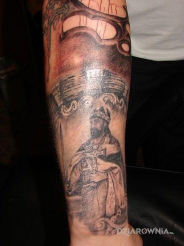 Tatuaż mieszko i - postacie