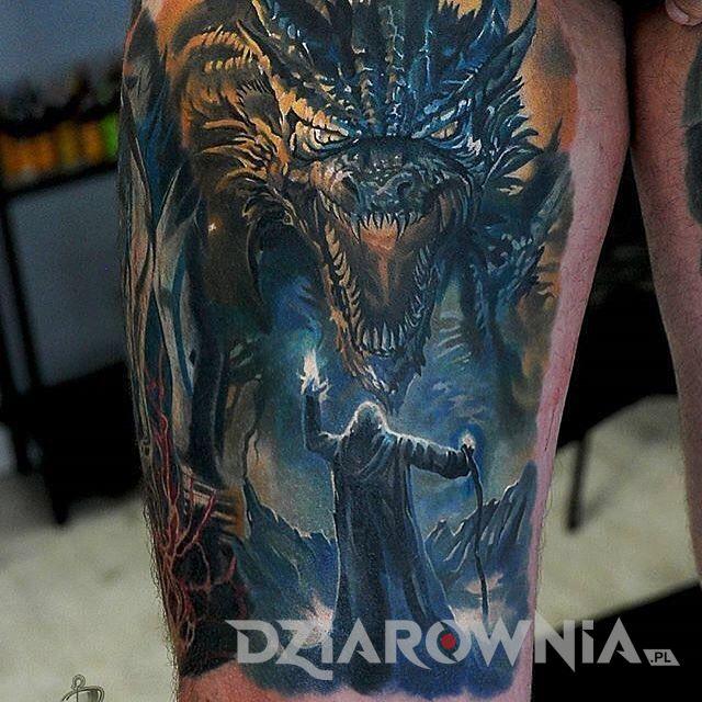 Tatuaż smoka 7