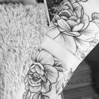 Kwiaty- przedramię
