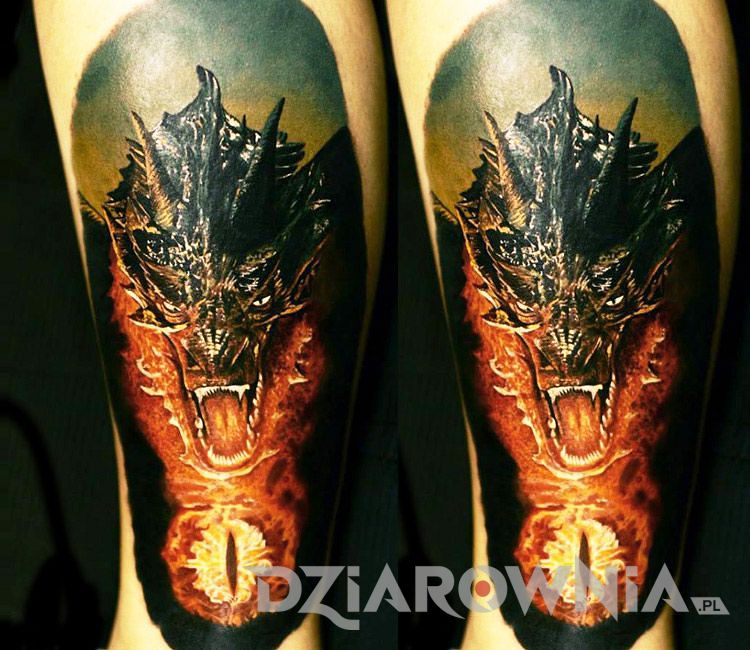 Tatuaż smoka 2
