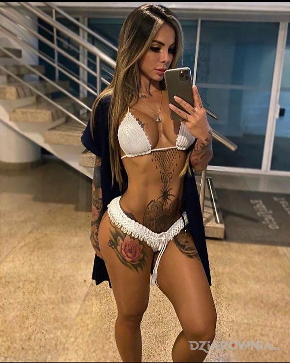 Tatuaż bielsze nie będzie d - seksowne