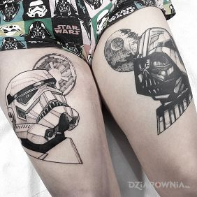 Vader / Stormtrooper / Star Wars / Gwiezdne Wojny