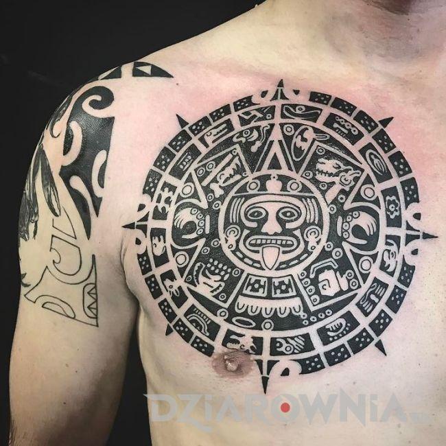 Tatuaż aztecki