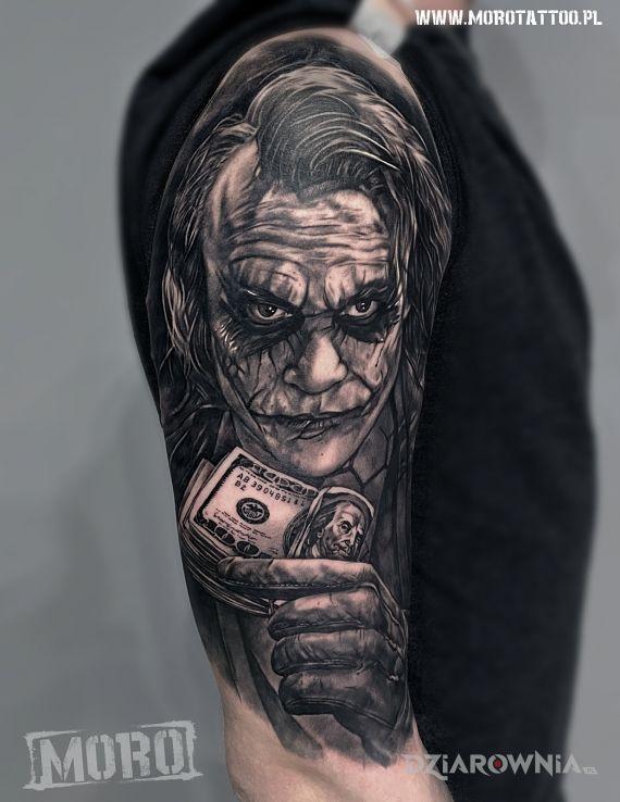 Tatuaż joker - postacie