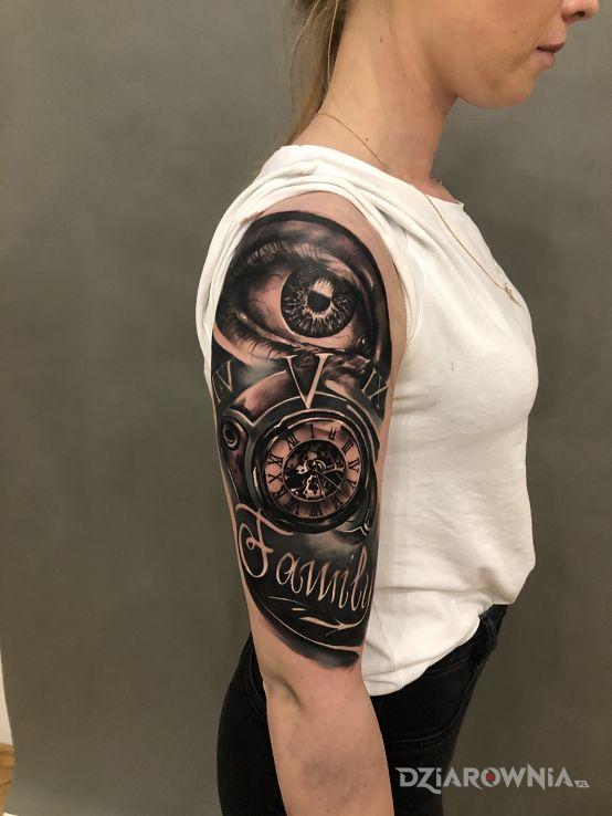 Tatuaż family - przedmioty