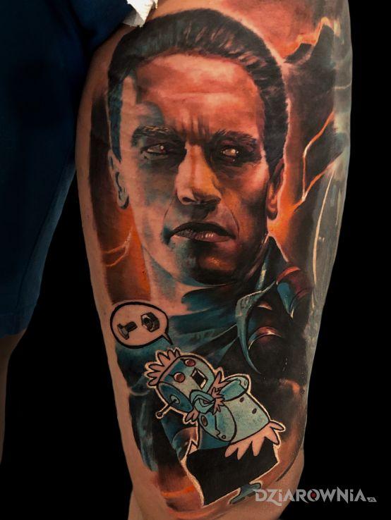 Tatuaż arnie - sławnych osób