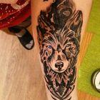 Wilk tattoo