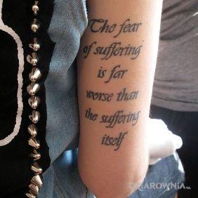 Strach przed cierpieniem