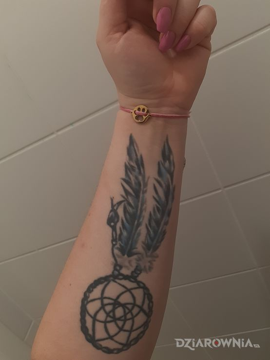Tatuaż łapacz snów - pozostałe
