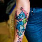 Stitch / Akwarela / Watercolor