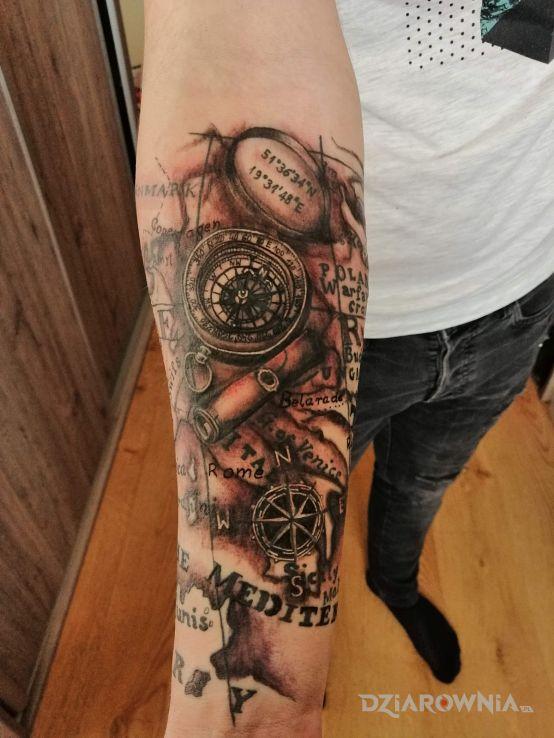 Tatuaż mapa - pozostałe
