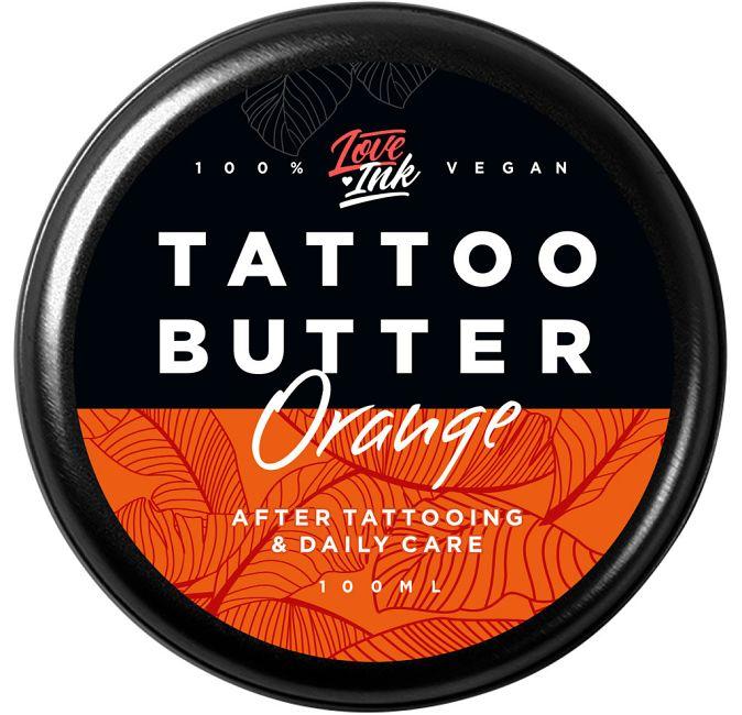 Tattoo Butter Orange Loveink