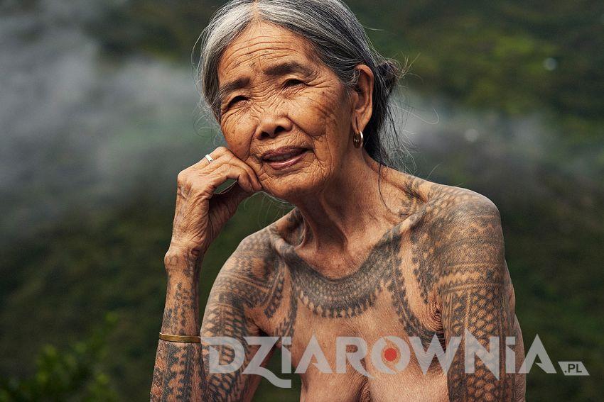 Whang-od tatuażystka 5