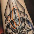 Nieudany tatuaż - Krzywe linie