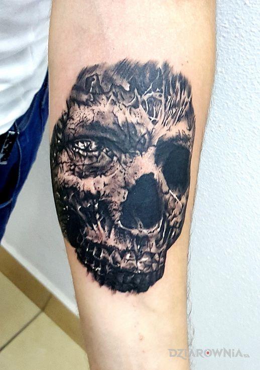 Tatuaż czaszunia - czaszki
