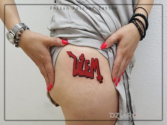 Tatuaż dżem - kolorowe