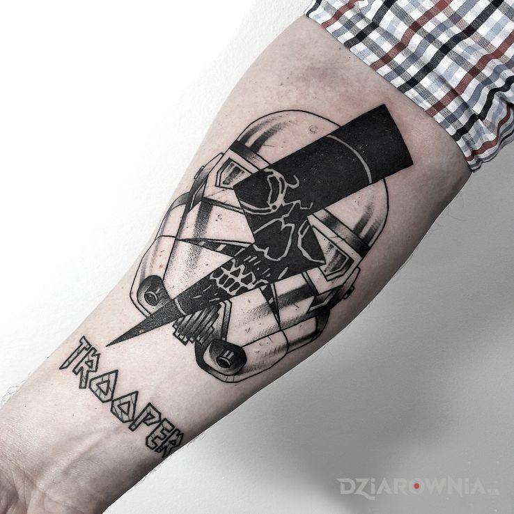Tatuaż stormtrooper  szturmowiec  star wars  gwiezdne wojny - postacie