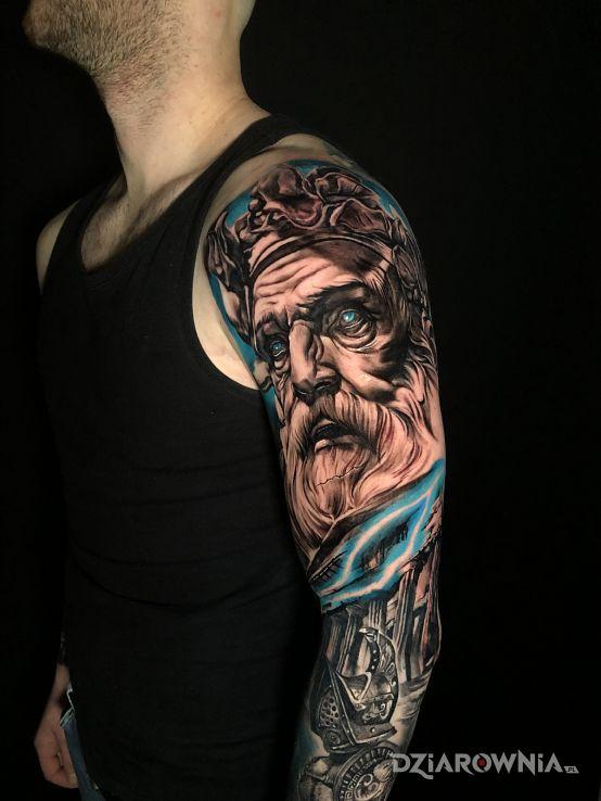 Tatuaż bogowie greccy - 3D