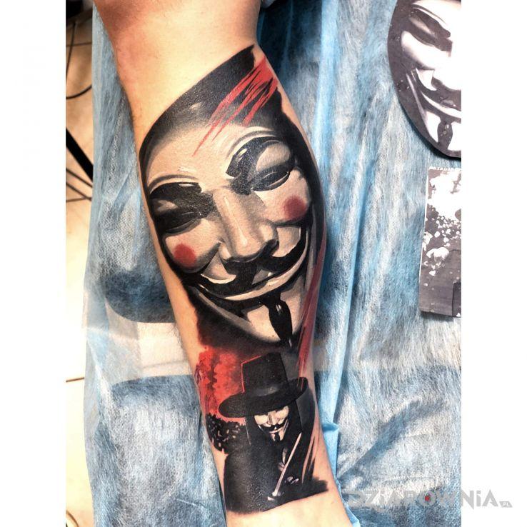 Tatuaż wrzucam inne foto - demony