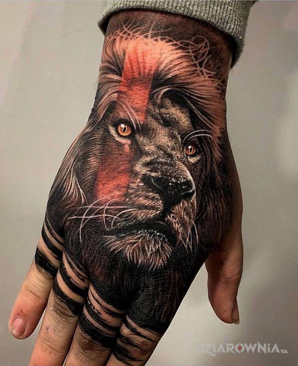 Tatuaż królewicz - zwierzęta