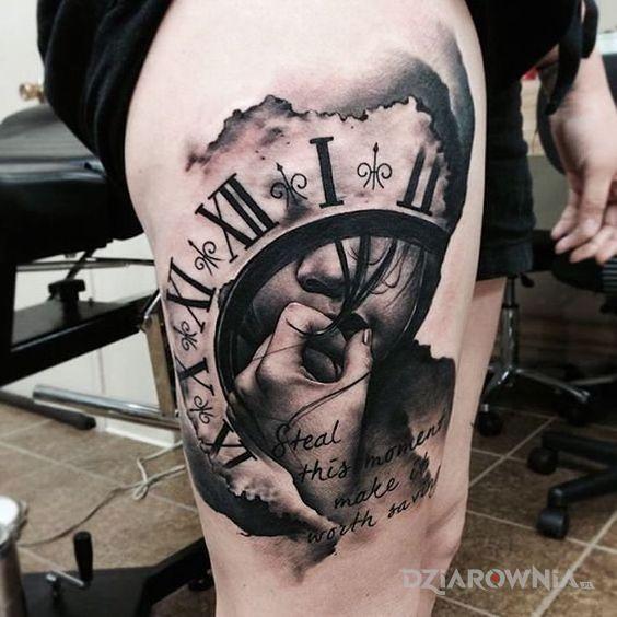 Tatuaż kradzież momentu - 3D