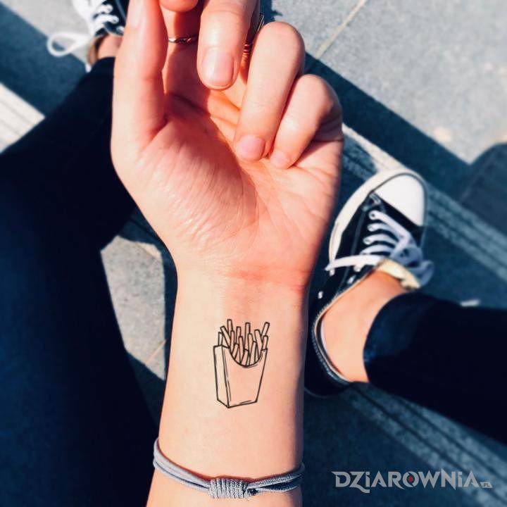 Tatuaż frytki 0 - pozostałe