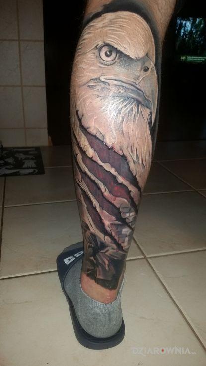 Tatuaż polska walczaca - patriotyczne
