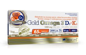 Gold Omega 3 D3+K2