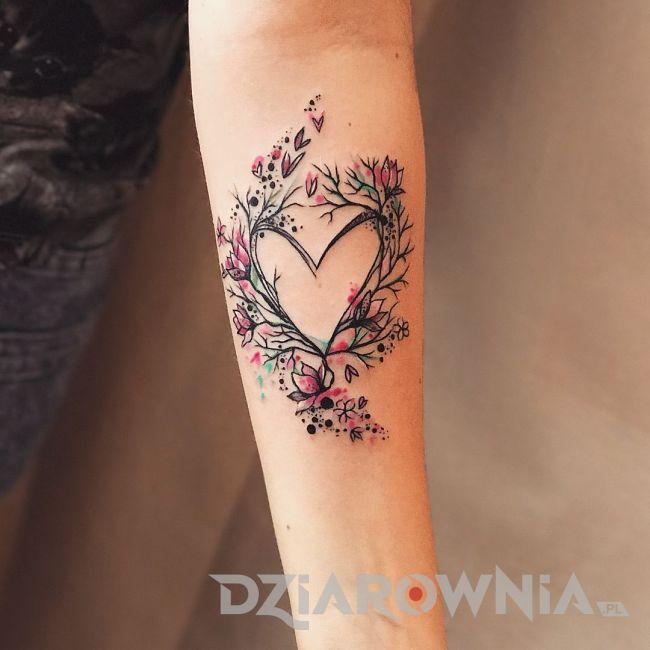 tatuaż serce