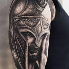 Głowa wojownika