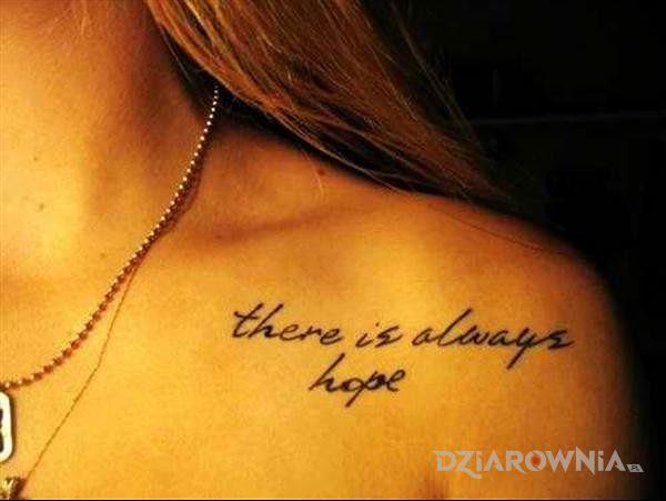 Tatuaż Napis Z Fajna Czcionka Autor Papkinson Dziarowniapl