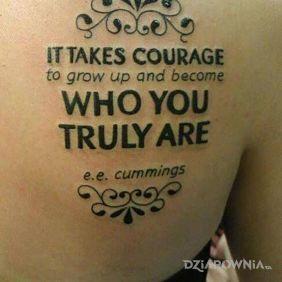 Bez odwagi nie da rady