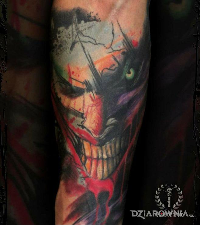 Tatuaż joker - demony