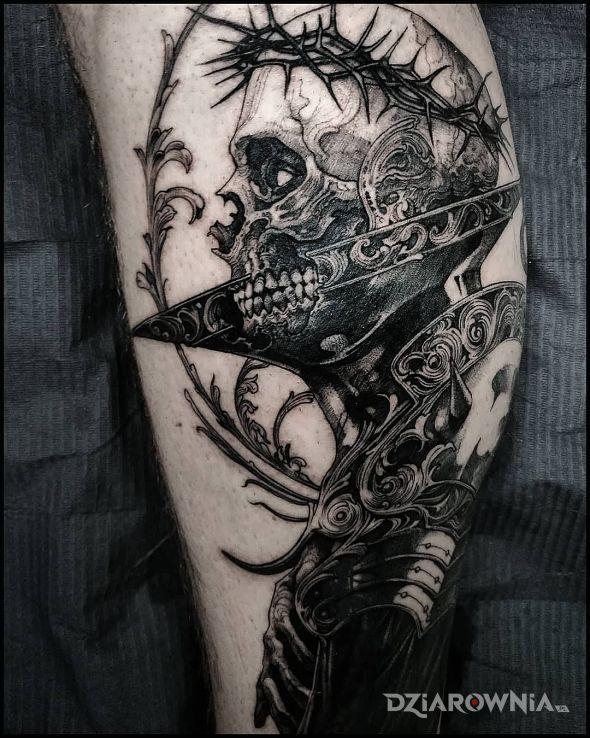 Tatuaż grafika - demony