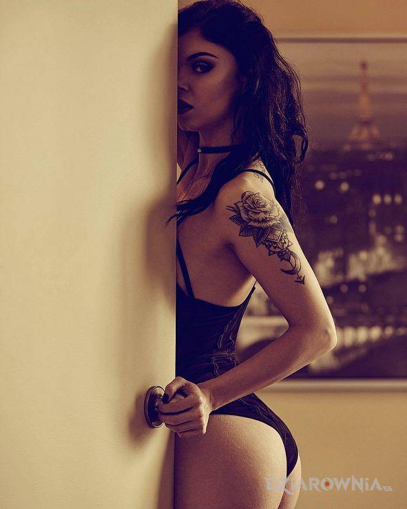 Tatuaż zmysłowo - seksowne