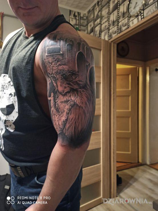 Tatuaż tatoo - rękawy