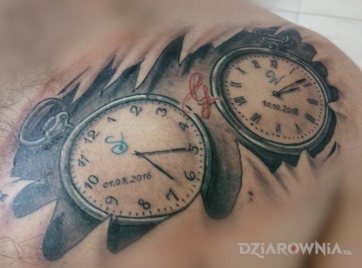 Tatuaż zegary - pozostałe