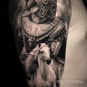 Wojownik na koniu
